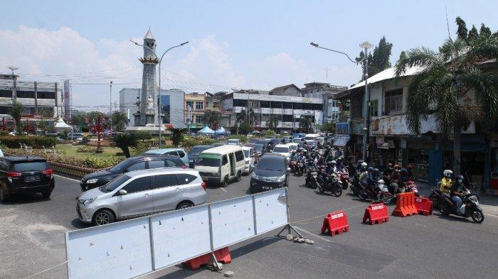 Penyekatan Jalan di Bandar Lampung, Kapolresta: Pandemi Belum Usai