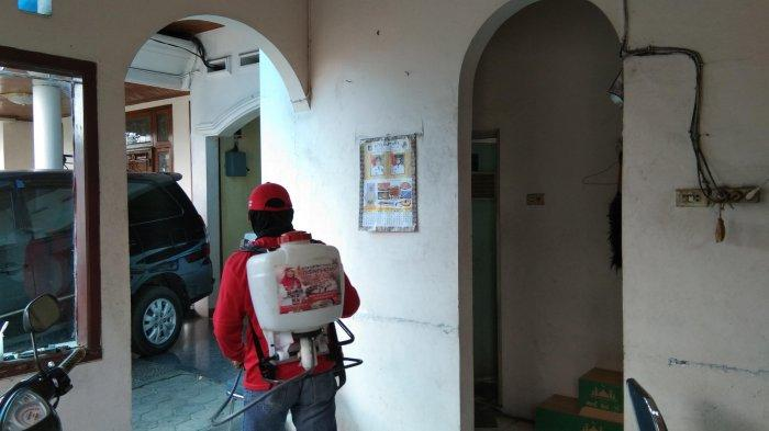 MTRH Lampung Semprot Disinfektan di Empat Kelurahan di Bandar Lampung