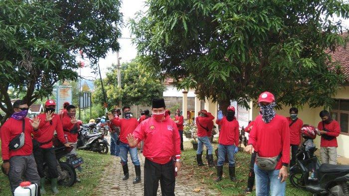 MTRH Lampung Semprot Cairan Disinfektan Secara Door to Door di Dua Kelurahan di TbB