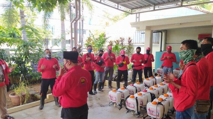 MTRH Lampung Semprot Disinfektan di 3 Kelurahan Kecamatan TkB