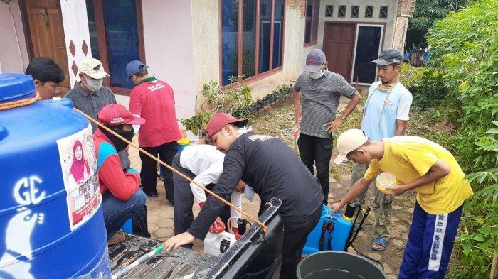 MTRH Lampung Lakukan Penyemprotan Disinfektan di Kecamatan Tanjung Senang