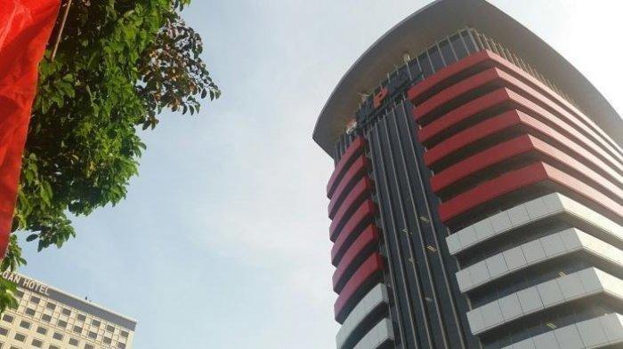 Ilustrasi Gedung Merah Putih KPK.