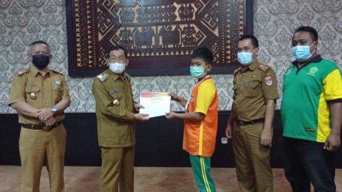 Siswa SLB Mesuji Raih 6 Medali Pepaperda Lampung Dapat Apresiasi dari Bupati Saply