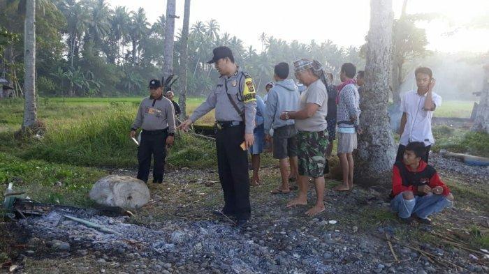 9 Perahu Dibakar Orang Tak Dikenal, Nelayan di Kota Agung Timur Geger