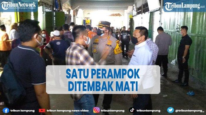 Polisi Tembak Mati Pelaku Perampokan Toko Emas Simpang Limun