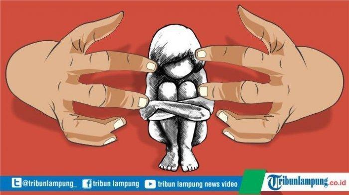 Oknum PNS Pemprov Lampung Cabuli Anak Tiri 8 Kali di Rumah Kala Ibu Korban Pergi Kerja