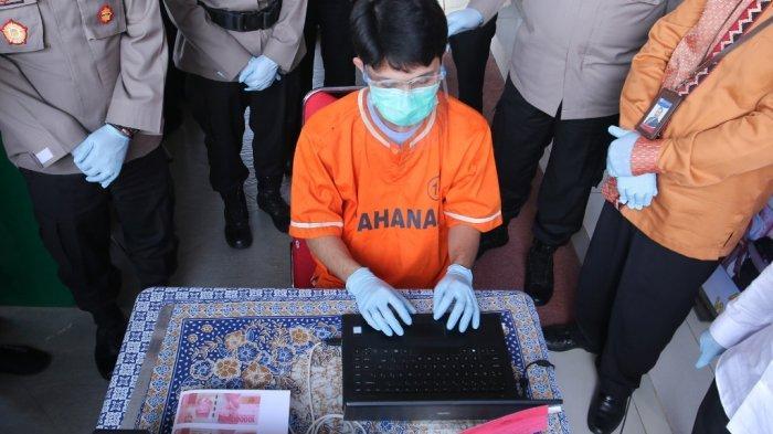 Kehabisan Uang saat Buron, Pria asal Natar Palsukan Uang hingga Rp 320 Juta