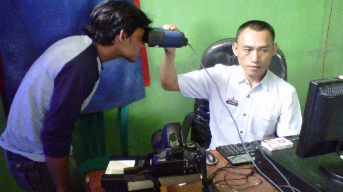 150 Warga Binaan Lapas Rajabasa Ikut Perekaman e-KTP, Sukseskan Pilkada Bandar Lampung 2020