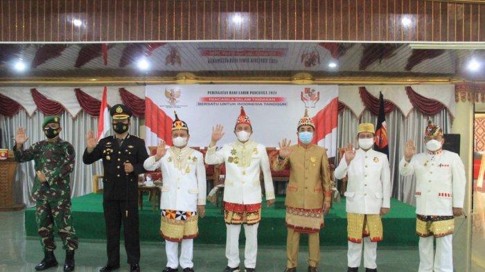 Peringatan Hari Lahir Pancasila, Ini Pesan Dandim 0422/Lampung Barat