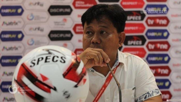 Pelatih Badak Lampung FC Budiarjo Thalib Tak Puas Melihat Cara Bertahan Laskar Saburai
