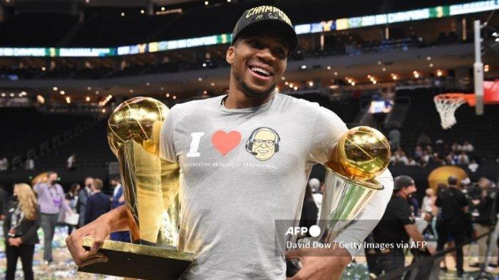 Perjalanan Karir Giannis Antetokounmpo Hingga Sukses Bawa Bucks Juara NBA 2021