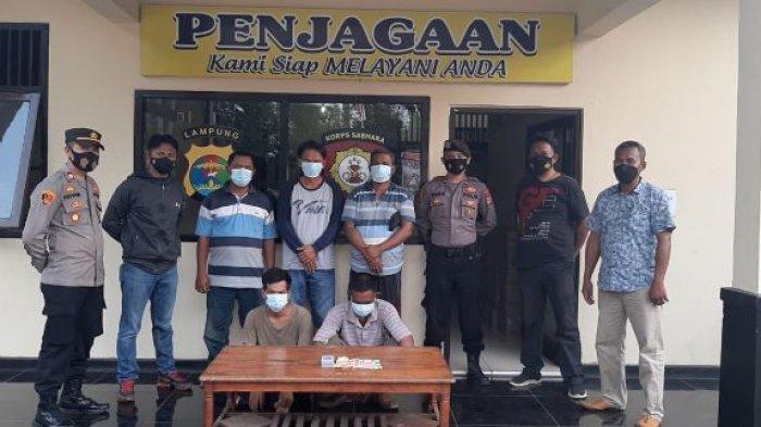 BREAKING NEWS Hari Pertama Idul Fitri, 5 Penjudi di Mataram Baru Lampung Timur Dicokok Polisi