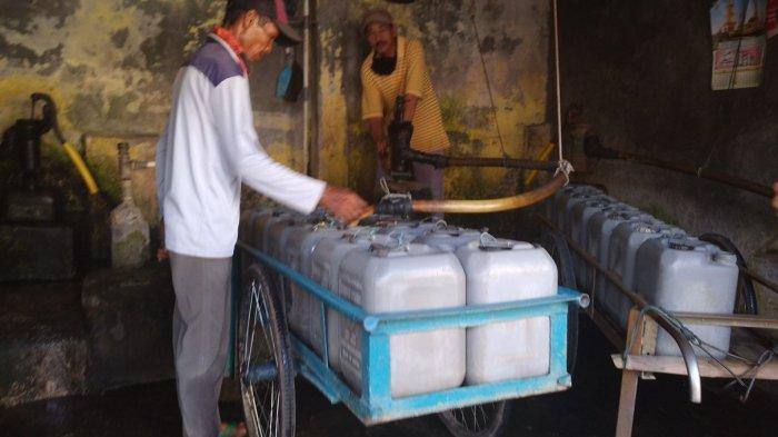 Permintaan Air Bersih Meningkat Jelang Musim Kemarau, Penjual Air Keliling Banjir Orderan
