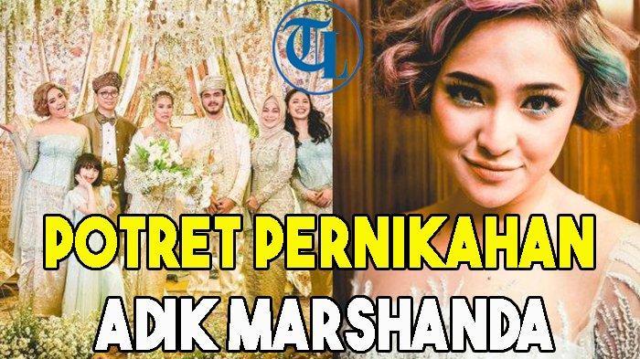 Potret Pernikahan Adik Marshanda, Adrian Hashfi dan Shermeen Lim Pilih Adat Minang