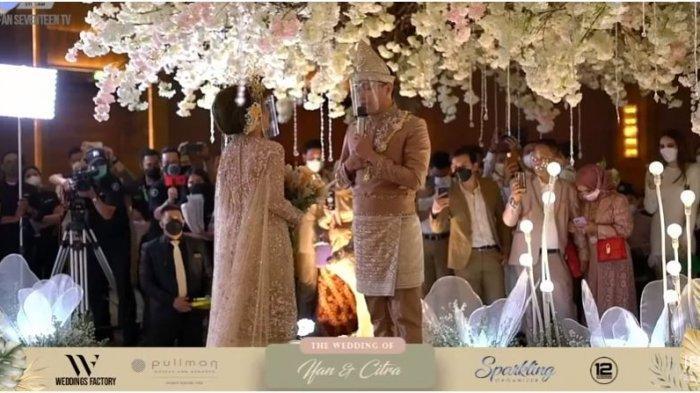 pernikahan Ifan Seventeen dan Citra Monika