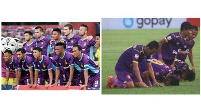 Ilustrasi para pemain Persik Kediri.