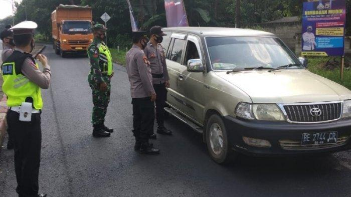 Personel Gabungan di Lampung Timur Gelar Patroli Bersama Jelang Idul Fitri 2021