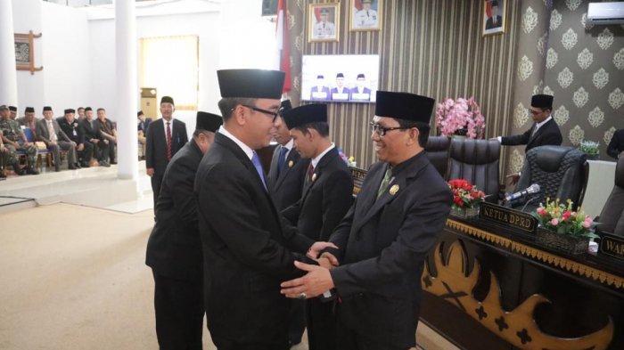 Pesan Bupati Way Kanan Raden Adipati Kepada Anggota DPRD Baru