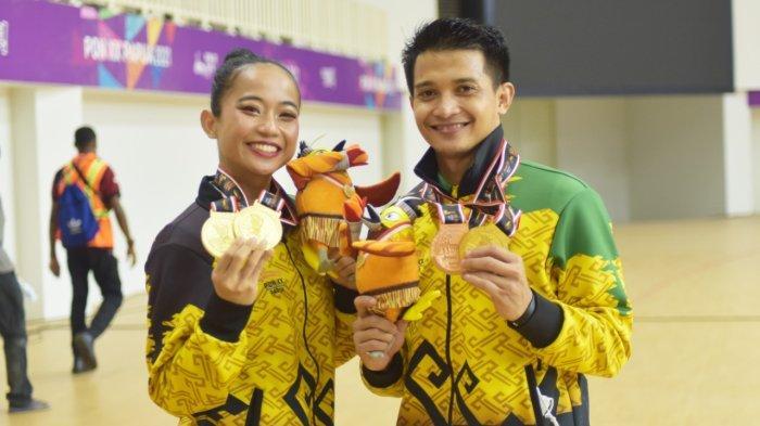 Pesenam Aerobic Gymnastic Umi dan Denda Tambah Perolehan Emas untuk Lampung