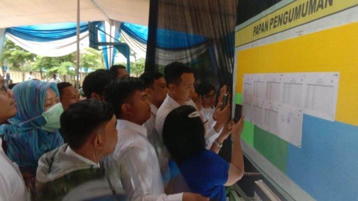 Hingga Hari Kelima 508 Peserta Gagal Lolos Tes SKD CPNS Kabupaten Pringsewu