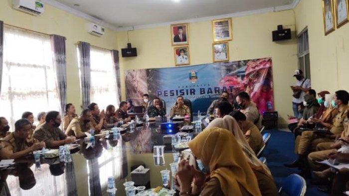 Bambang Sumbogo Pimpin Rapat Persiapan Kunjungan Puan Maharani dan Kapolda Lampung