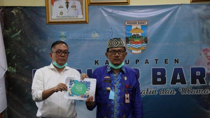 Biomasa Energi Nusantara Jaya dan Kabupaten Pesisir Barat Bangun Pabrik Wood Pellet