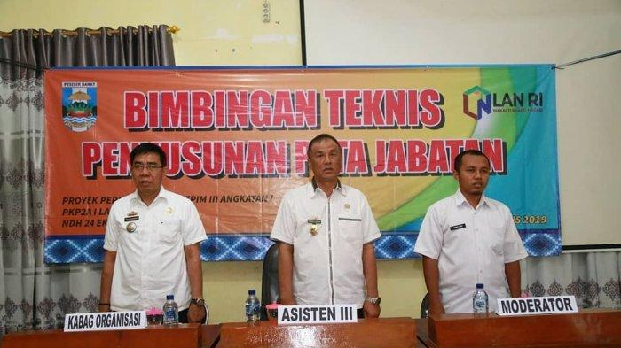 Bimbingan Teknis Penyusunan Evaluasi Jabatan Kabupaten Pesisir Barat Guna Tingkatkan Kualitas SDM