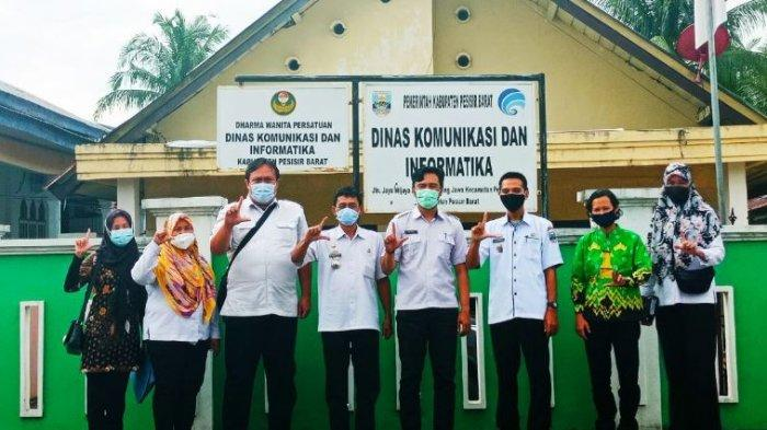 Diskominfotik Provinsi Lampung Pelajari Aplikasi SIKAMDO Kabupaten Pesisir Barat