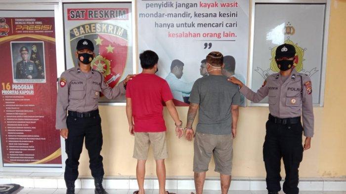 Pesta Narkoba, Warga Depok Ditangkap Polres Pringsewu