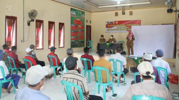 Petani di Gedung Meneng Tulangbawang Lampung Diberi Pembekalan Cara Bercocok Tanam