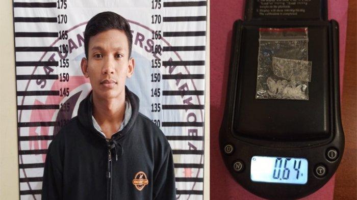 Nyambi Jual Sabu, Petani di Tulangbawang Lampung Dicokok Polisi di Sebuah Gubuk