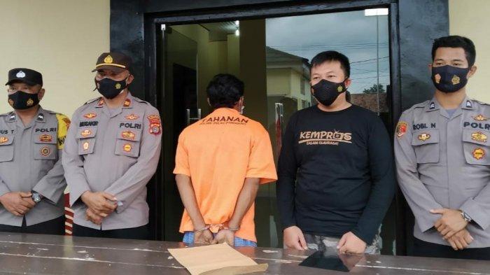 Pukuli Tetangganya, Petani Kopi di Tanggamus Ditangkap Polsek Pulau Panggung
