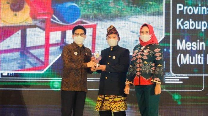Berkat Mesin Penggiling Padi, Petani Tulangbawang Lampung Sabet Juara 3 Lomba TTG Nasional