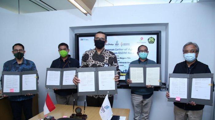 PGN Tandatangani LoA Tahap Keempat Implementasi Kepmen ESDM 89.K dan Kepmen 91.K/2020