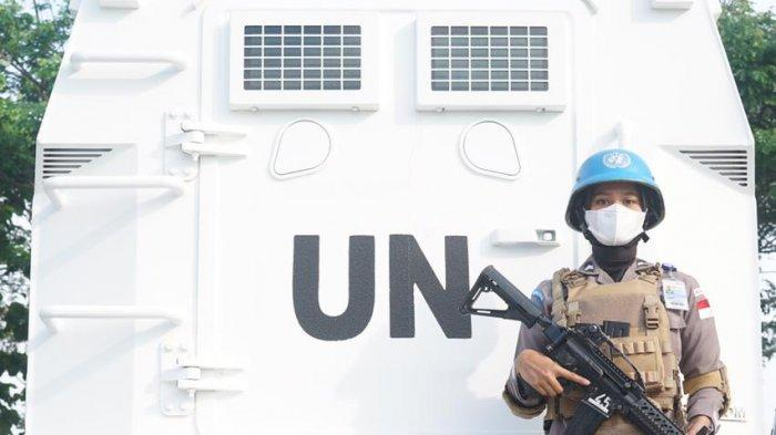 Piawai Dua Bahasa dan Menembak, Polwan Asal Tuba Lampung Lolos Jadi Pasukan Perdamaian Dunia