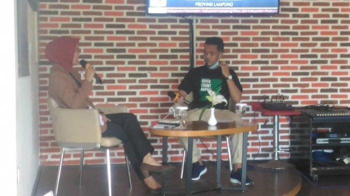BREAKING NEWS Hasil Pilkada Bandar Lampung 2020, Quick Count Rakata Institute Eva-Deddy Unggul