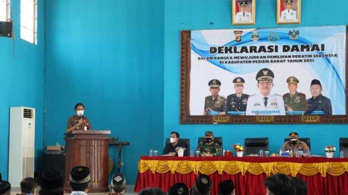 Deklarasi Damai Pilratin Pesisir Barat, Agus Istiqlal: Tetap Tegakkan Prokes