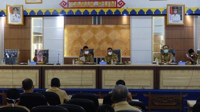 Pj Sekkab Lampung Tengah Minta OPD Siapkan Rencana Target dan Capaian Kinerja