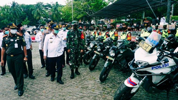 Pjs Bupati Lampung Selatan Sulpakar Pimpin Apel Siaga Penanggulangan Bencana