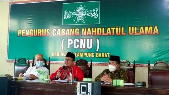 PCNU Lampung Barat Gelar PKPNU Oktober 2021