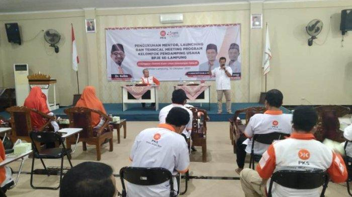 PKS Lampung Luncurkan Program Kelompok Pendamping Usaha