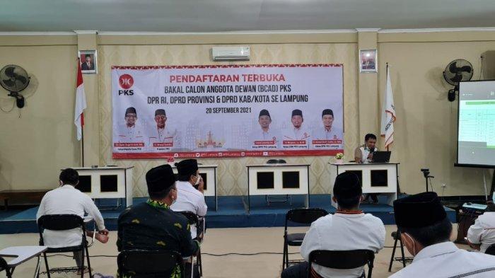 PKS Lampung Resmi Buka Pendaftaran Balon Anggota Dewan