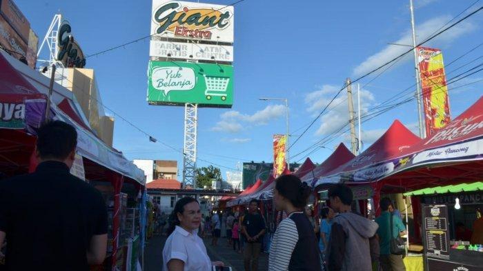 Pesta Kuliner di Planet Food Giant Antasari Bandar Lampung, Dapat Cashback 20 Persen