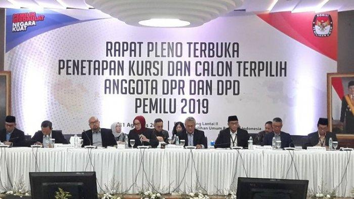 PDIP, Golkar, Gerindra Tiga Besar Parpol Senayan, Dicoblos 27,5 Juta Pemilih PDIP Raih 128 Kursi