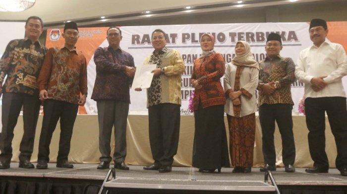 BERITA FOTO: Pleno Terbuka Penetapan Gubernur Lampung di Novotel