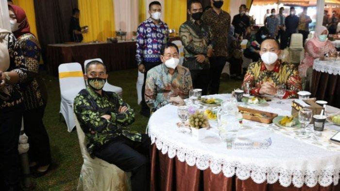 Plh Bupati Kabupaten Pesisir Barat Lingga Kusuma Hadiri Pisah Sambut Kapolda Lampung di Mahan Agung