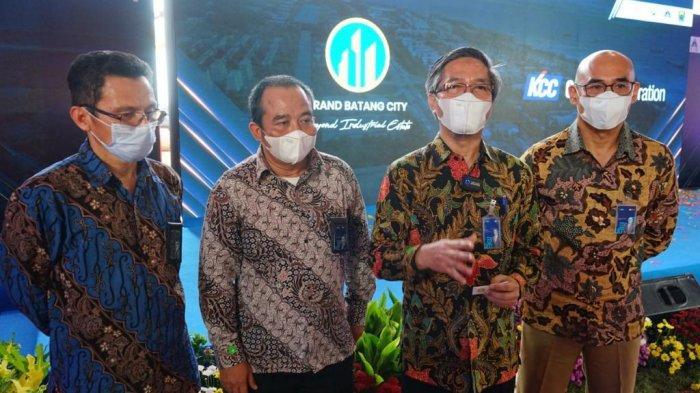Dorong Pertumbuhan Investasi, PLN Siap Penuhi Kebutuhan Listrik KCC Glass Indonesia