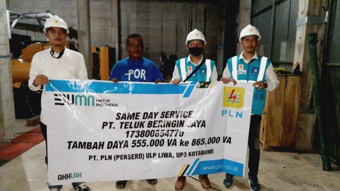 PLN Sajikan Same Day Service, Dongkrak Ekonomi Lampung