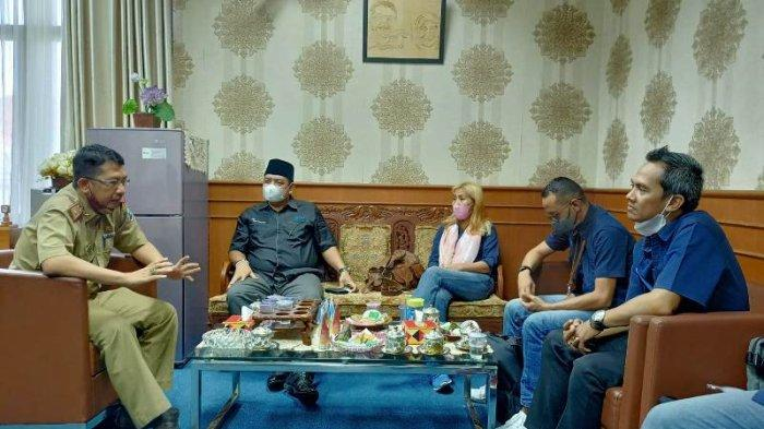 Jalin Kerjasama, Jajaran Tribun Lampung Silaturahmi ke Kantor DPRD Lampung Selatan