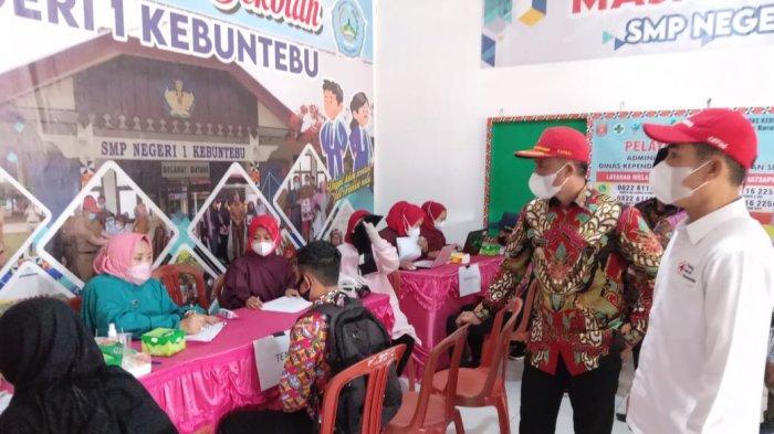 PMI Lampung Barat Gelar Gebyar Vaksinasi, Sasar Pelajar dan Masyarakat Umum